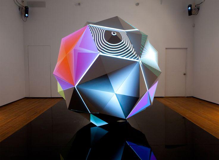 Parmenides I (2011) by Dev Harlan: Astral Flight, Art Sculpture, Flight Hangar, Dev Harlan, Trav'Lin Lights, The Artists, Digital Art, Projects Maps, Lights Sculpture