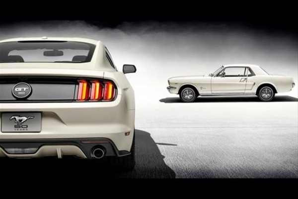 Ford Mustang 50 Year Limited Edition: 50 Years Young! | Baxtton