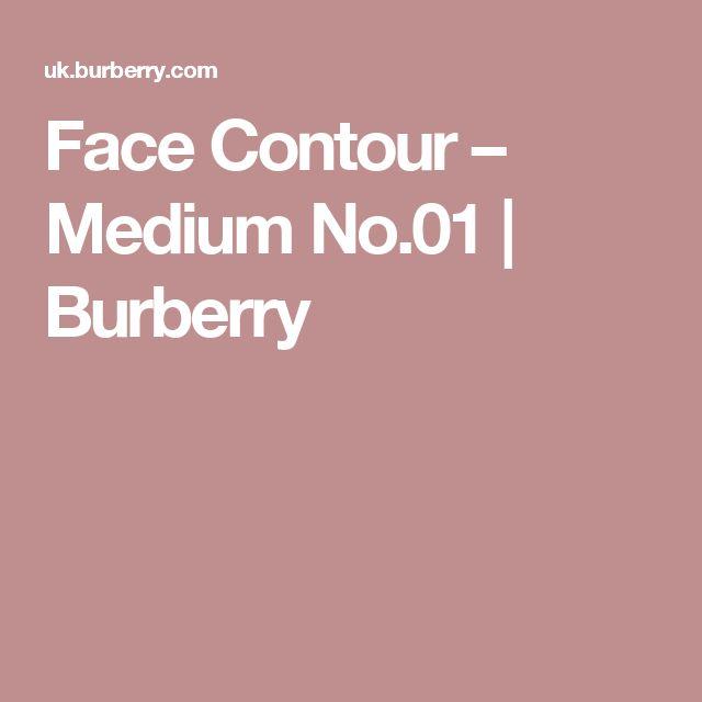 Face Contour – Medium No.01 | Burberry