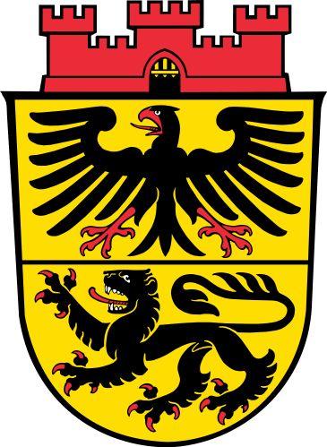 Coat of Arms: Düren, North Rhine-Westphalia, Germany