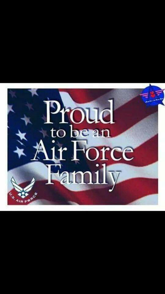 Proud Air Force Family