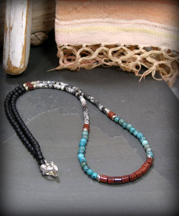 Mens Native American Beads: 1000+ Ideas About Mens Beaded Necklaces On Pinterest