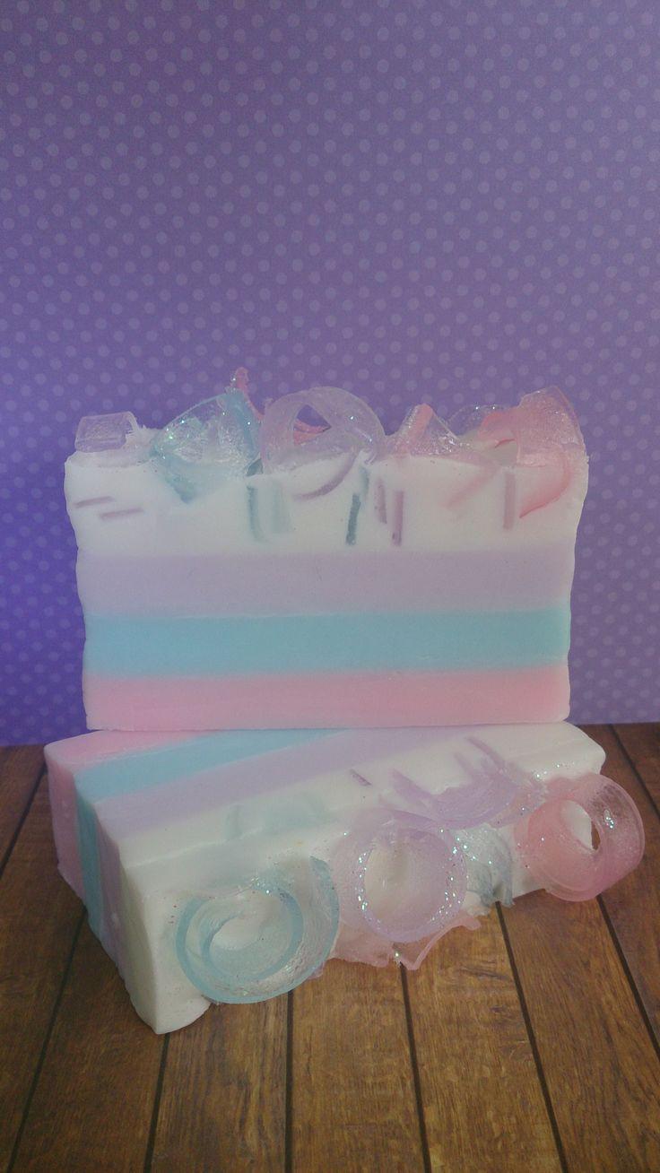 Soap Loaf - Cotton Candy by Lavish Body ~ Handmade Natural Bath & Body Treats ~