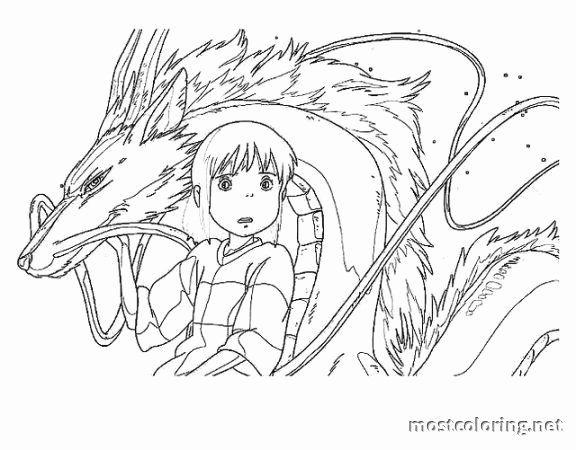 Studio Ghibli Coloring Book Unique Spirited Away Coloring Pages Enchanted Forest Coloring Book Geometric Coloring Pages Forest Coloring Book
