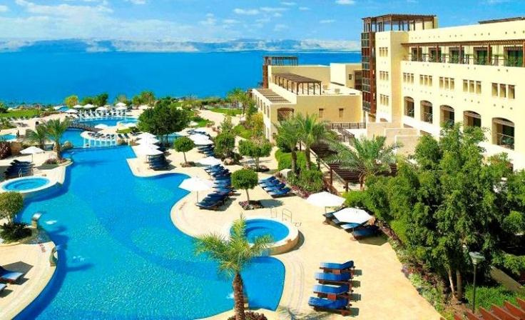 Jordan Valley Marriott Resort & Spa w Sweimeh w Jordanii - hotel i SPA w jednym.
