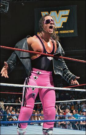 "Bret ""The Hitman"" Hart WWF WWE"
