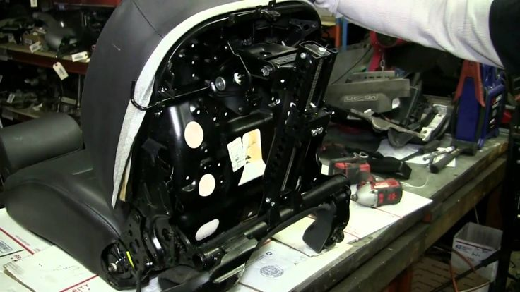 Audi A6 / Allroad C5 Seat Disassembly 1998-2004