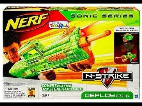 Reviewing Nerf Deploy CS-6 - YouTube