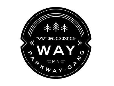 Dribbble - Mpls Bike Gangs / Wrong Way Parkway Gang by Allan Peters