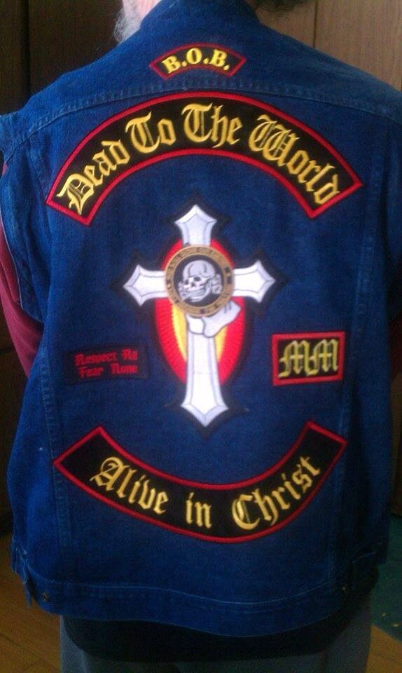 252 Best Christian Biker Patches Colors Images On