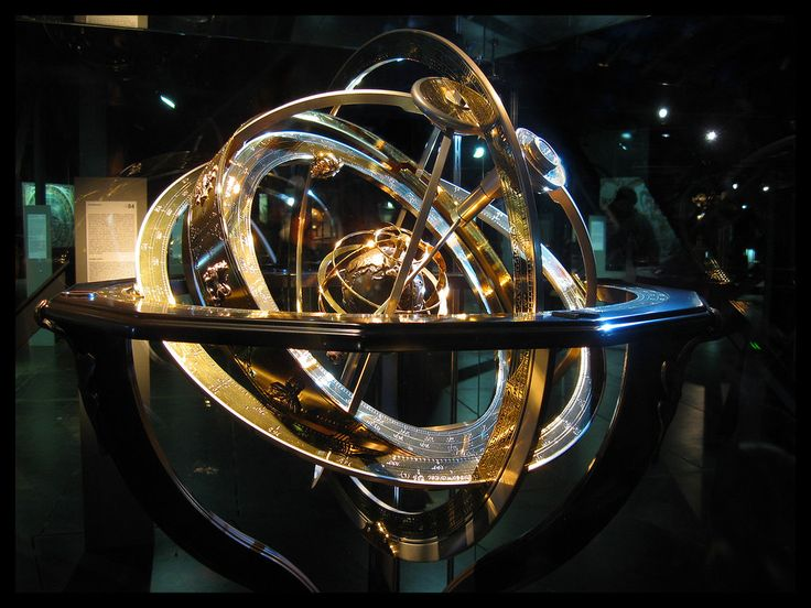 Armillary spheres were among the first complex mechanical devices. Their development led to many improvements in techniques and design of all mechanical devices. Renaissance scientists and public figures often had their portraits painted showing them with one hand on an armillary sphere, which represented the height of wisdom and knowledge.