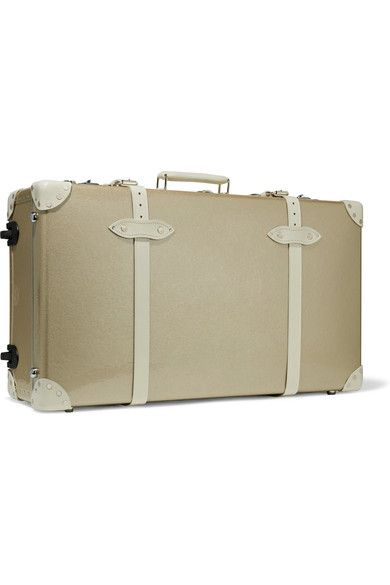Globe-Trotter - Champagne 30'' Leather-trimmed Fiberboard Travel Trolley - Gold - one size