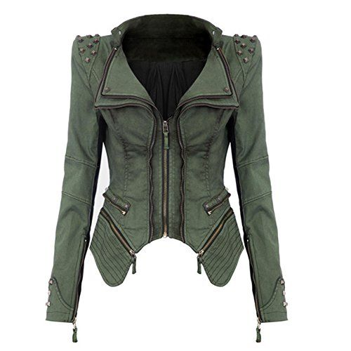 Abody� Women Denim Jacket Punk Style... for only $50.07