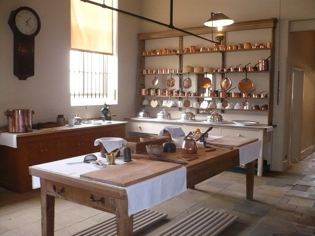 Audley End House, Essex. The kitchen