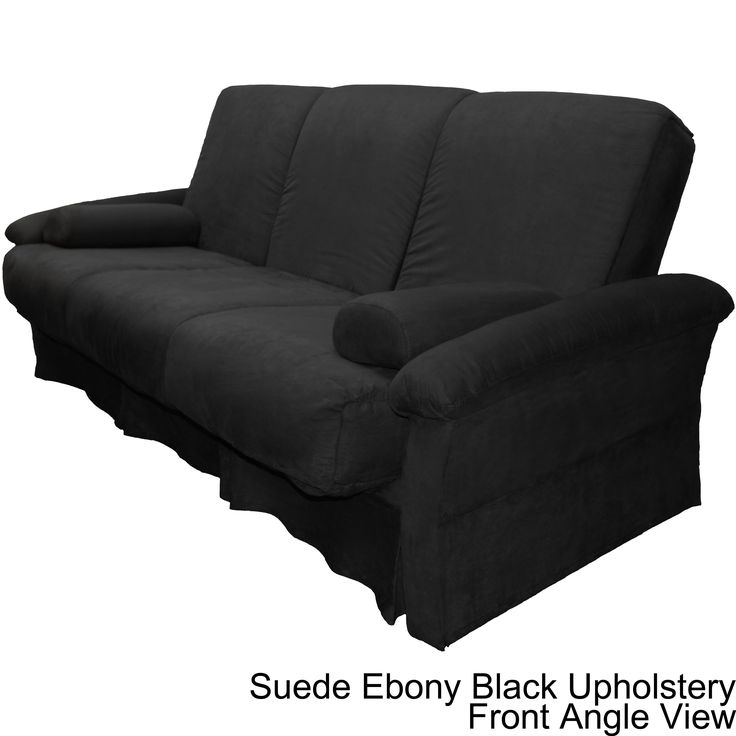 EpicFurnishings Taylor Perfect Sit and Sleep Transitional Pocketed Coil Pillow Top Futon Chair or Sofa Sleeper Bed