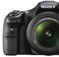 Sony SLT-A58K · Digitale Spiegelreflexkamera mit 18-55mm