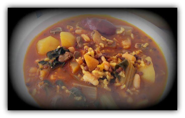 La Cuina i el Menjar Alacantí: Olleta de los tres puñaos