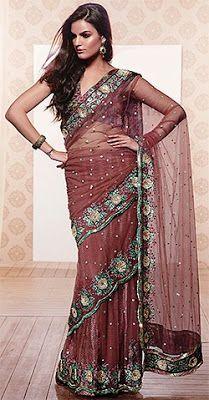 Double Drap saree draping style ~ Saree Draping Style