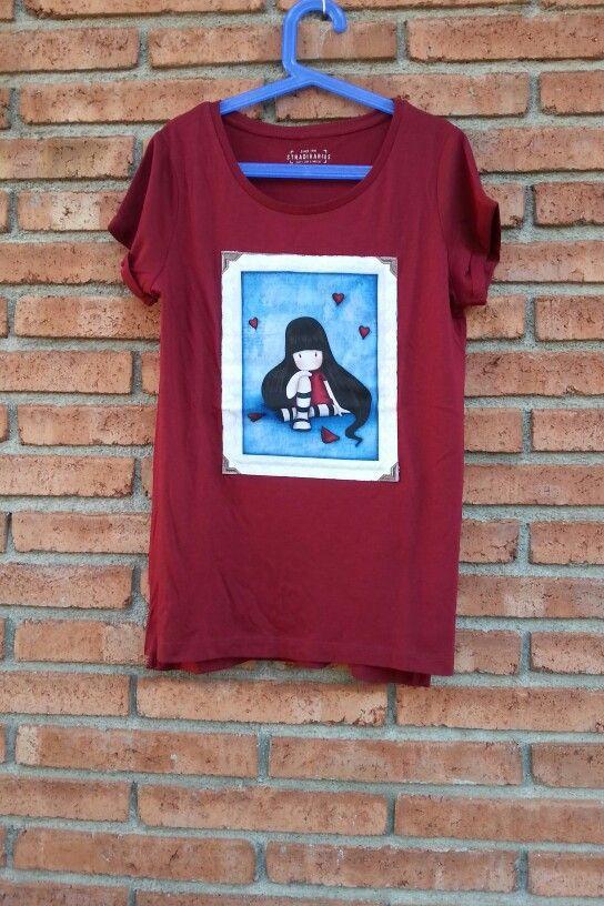 Camiseta mujer Gorjuss