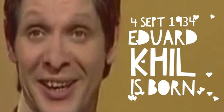 "4 September 1934. Baritone Eduard ""Trololol"" Khil is born"
