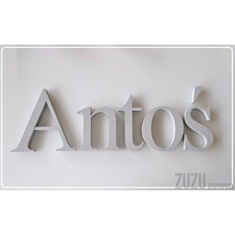 Antoś - literki Elegance