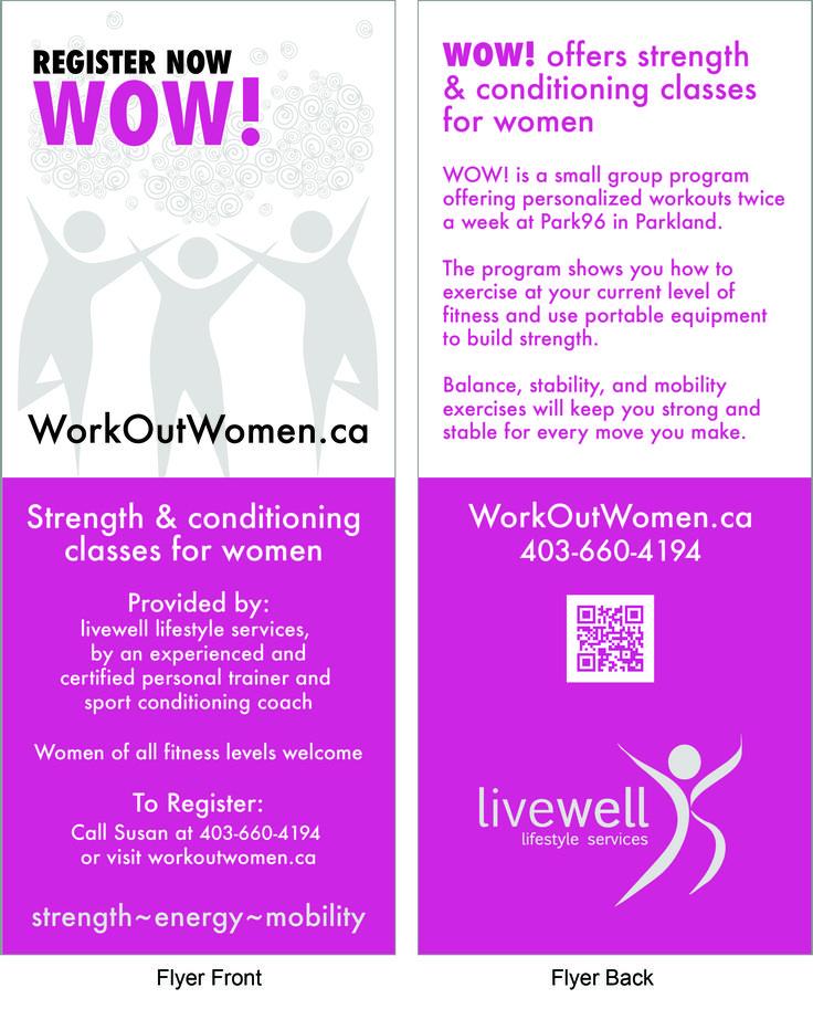 WorkOut Women flyer