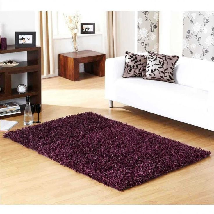 Veronica Extra Soft Plum Rug By Ultimate Rug Veronica Extra Soft Plum Rug which is offered by Ultimate Rug is a lovely masterpiece depicting the soft feathery touch. Polyester made this rug is stain-resistant, anti-fade and durable. #plainrugs #shaggyrugs #plumshaggyrugs #handmaderugs