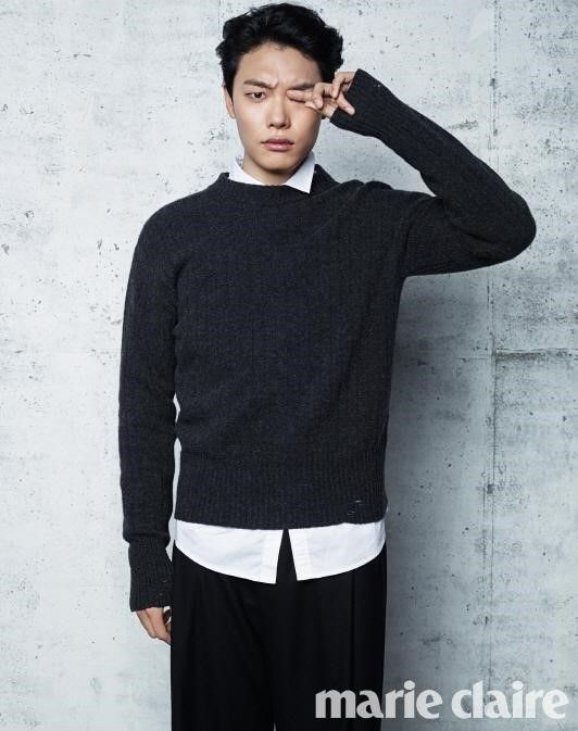 Ryu Jun Yeol for Marie Claire