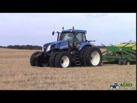 New Holland T8 390 20th Anniversary Genesis Tractor