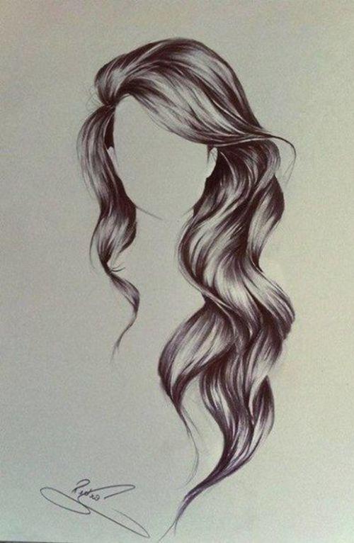 capelli disegnati stupendi
