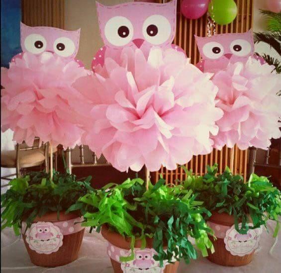 Decoración para fiestas con temática de buhos (10) - Decoracion de Fiestas Cumpleaños Bodas, Baby shower, Bautizo, Despedidas