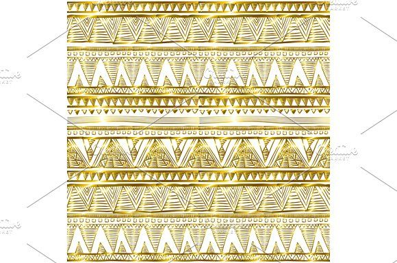 seamless gold glitter pattern vector by Rommeo79 on @creativemarket