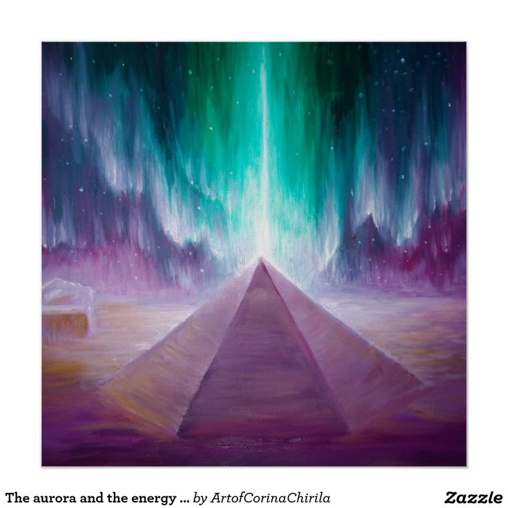 The aurora and the energy of the Cydonia pyramid