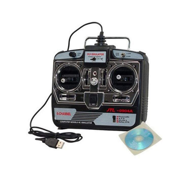 Best Price Jtl 0904A  RC Helicopter Airplane Flight Simulator Fms 6Ch Usb #Helicopter #Flight #Simulator