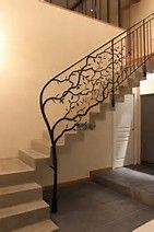 Image result for metal railings for stairs