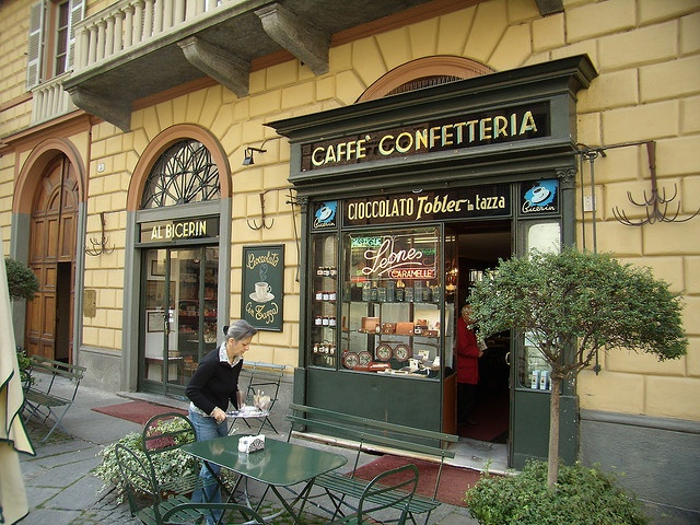 Having 'Bicerin' is the must when you visit Turin/Torino!
