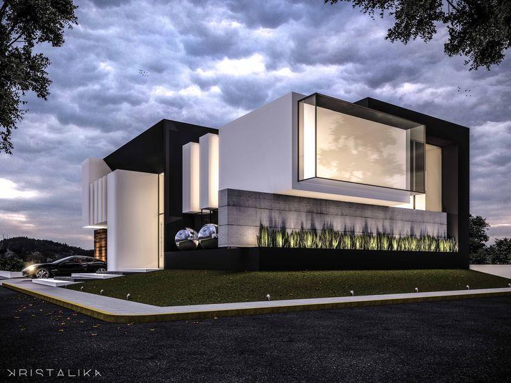 1000 images about fachadas de casas modernas en pinterest - Interni arquitectos ...