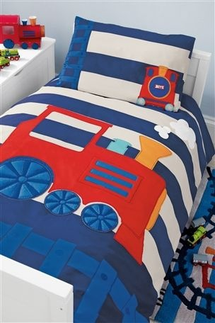 Toddler Train Bed Set From The Next Uk Online