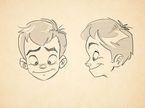 cartoon fundamentals how to draw children tuts design illustration tutorial - Cartoon Drawings Of Children