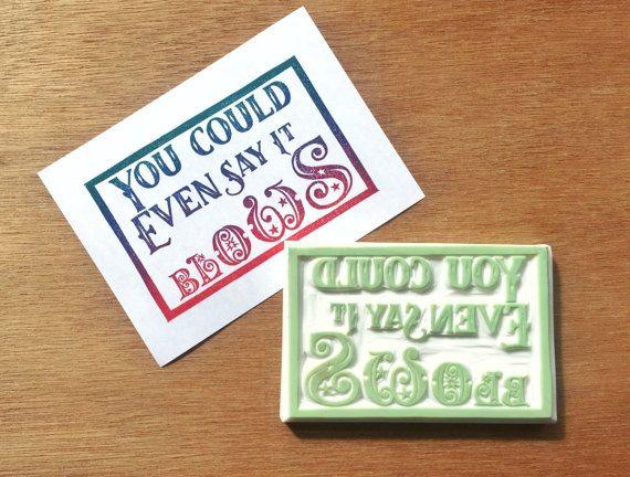 Christmas card stamp, snarky Christmas stamp, holiday card stamp