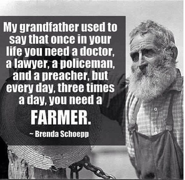 Farmers Day Quotes: Every Time You Eat You Should Thank A Farmer For Working