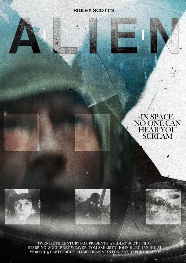 fake movie posters, midnight marauder, alien