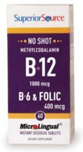 Feel like you are lacking energy? This B12 formula is microlingual - it dissolves under your tongue for a better absorption for your body!