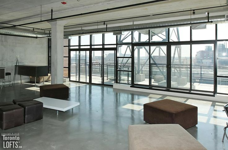 Broadview Lofts-68 Broadview Ave #322  | Bright North-West facing 1 bedroom corner loft with cityscape views, floor to ceiling windows, polished concrete floors, and private balcony. One parking also included. | More info here: torontolofts.ca/broadview-lofts-lofts-for-rent/68-broadview-ave-322-7
