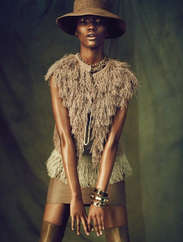 """Couleur Cafe,"" by Dress to Kill Magazine Features Herieth Paul by Max Abadian"