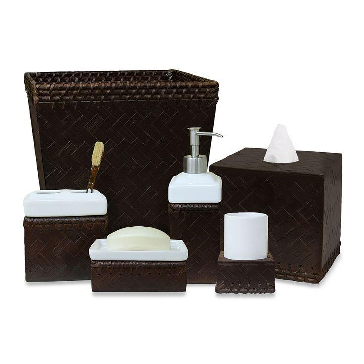 Lamont Home™ Fiji Espresso Bath Ensemble - BedBathandBeyond.com