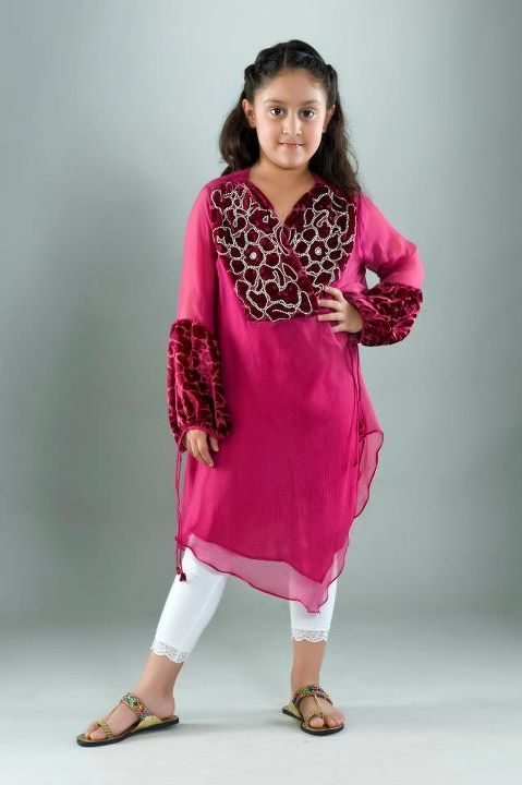 Latest Beautiful Kids Collection 2012 003