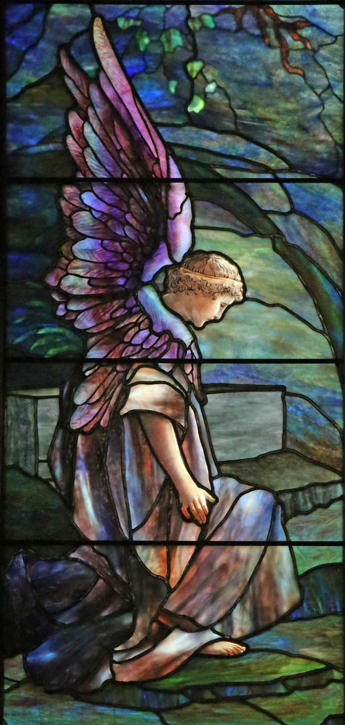 Tiffany, Resurrection and Noli Me Tangere, St. Johns Church, Franklin, PA