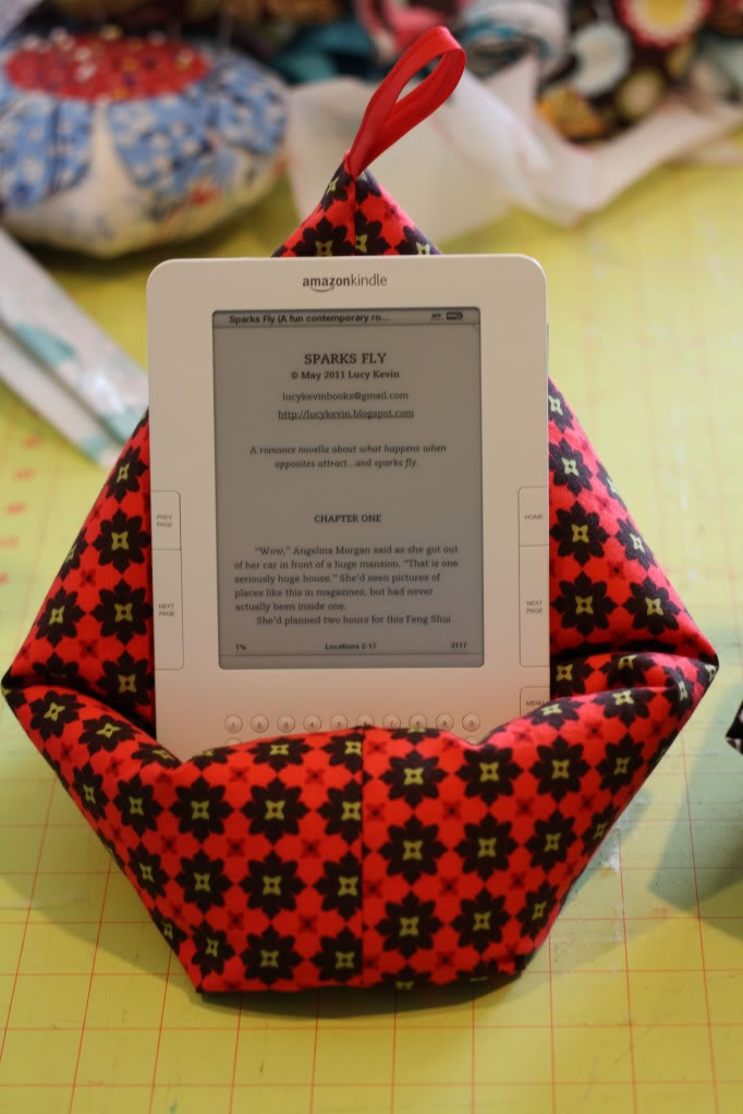 kindle pillow.... Maybe for Mom?