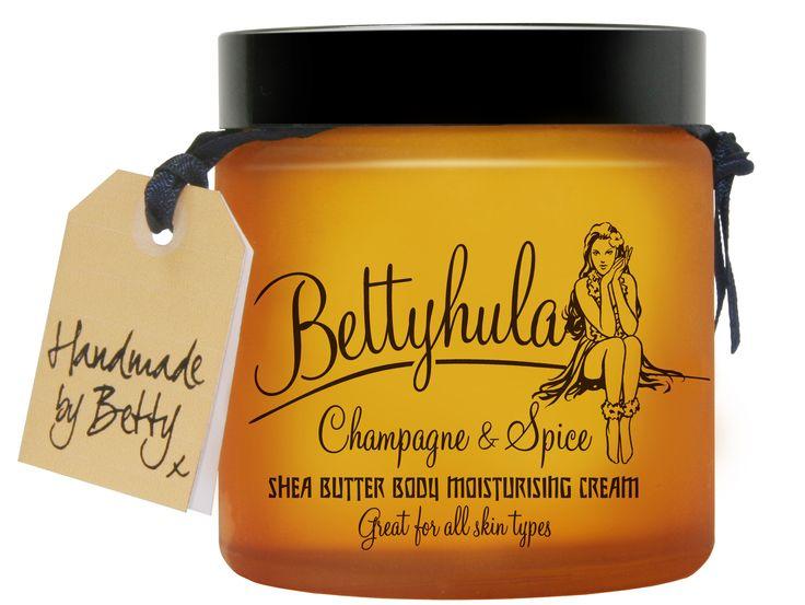 Bettyhula Shea Butter Body Cream | #packaging